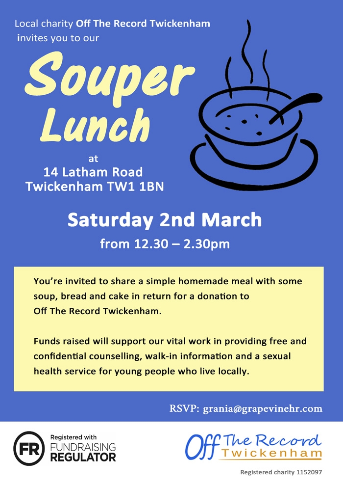 Souper Lunch Charity event